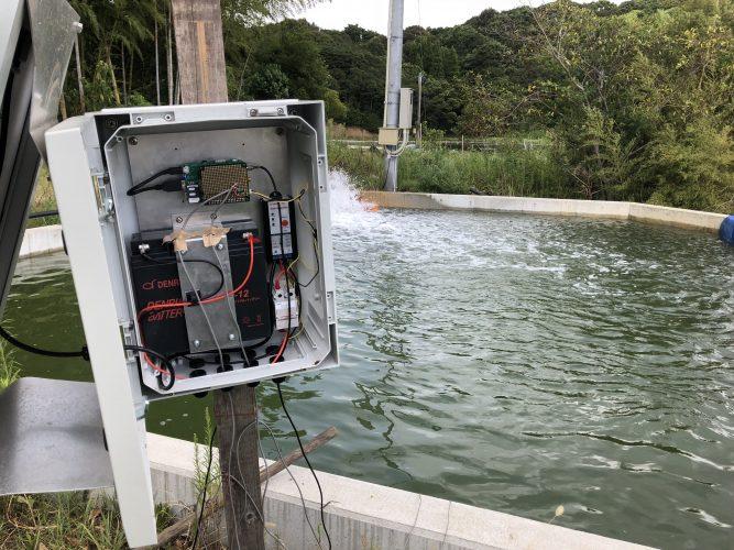 水温測定システム 内部